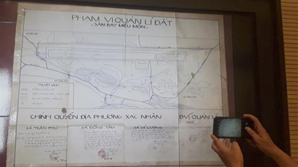 Công bố bản đồ sân bay Miếu Môn ở Đồng Tâm