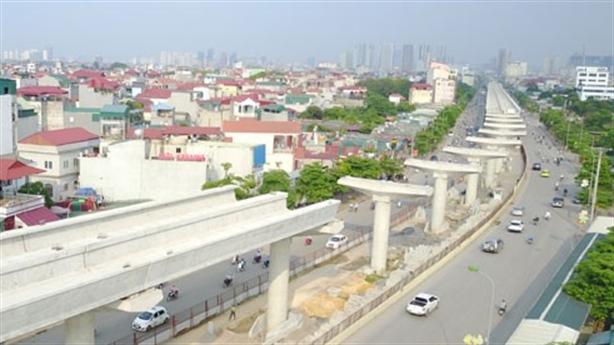 Metro ga Hà Nội-Nhổn thiết kế 80km/h, chạy 35km/h: Băn khoăn