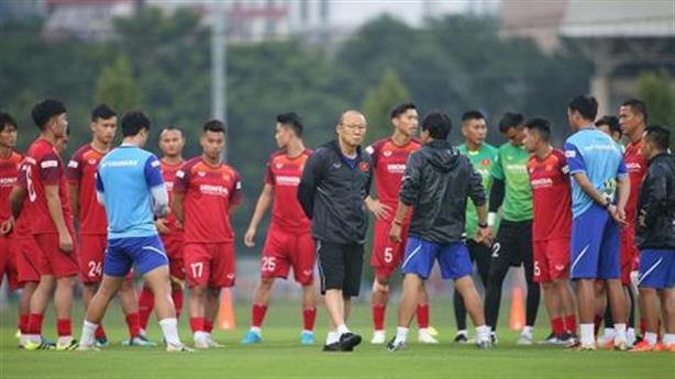 Liều thuốc cho thầy trò Park Hang Seo trước trận Thái Lan