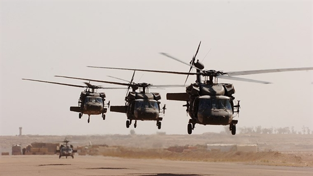 Trực thăng Mỹ tại Syria tự chọc mù tên lửa MANPADS