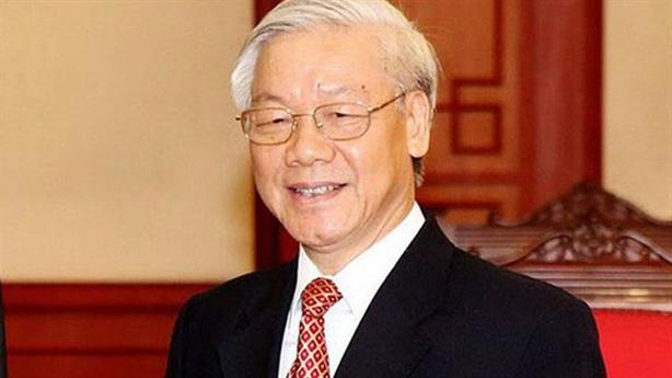 Tổng Bí thư Nguyễn Phú Trọng điện mừng Tổng thống Kyrgystan