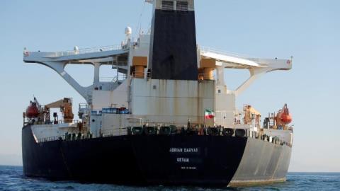 Tàu dầu Iran bất ngờ giảm tốc ở Syria, Mỹ nóng ruột