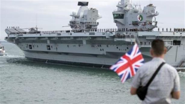 Tàu sân bay Anh rỉ nước, thuyền trưởng vẫn tự tin?