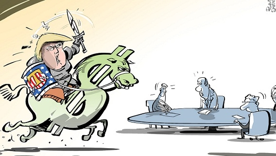Cây gậy trừng phạt của Mỹ đang làm hại chính đồng dollars
