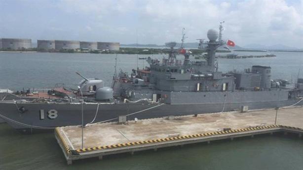 Nhiệm vụ của Tàu 18 trong diễn tập chung với Mỹ