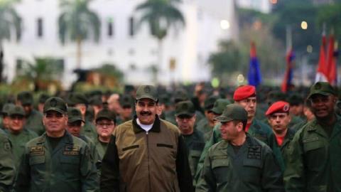 Mỹ không can thiệp quân sự Venezuela: Guaido hết cửa?
