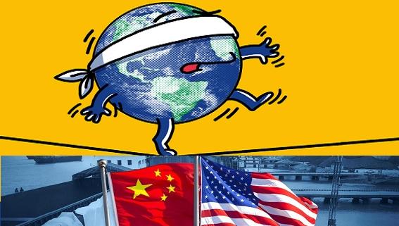 Thương chiến Trung-Mỹ khiến kinh tế thế giới như người mù
