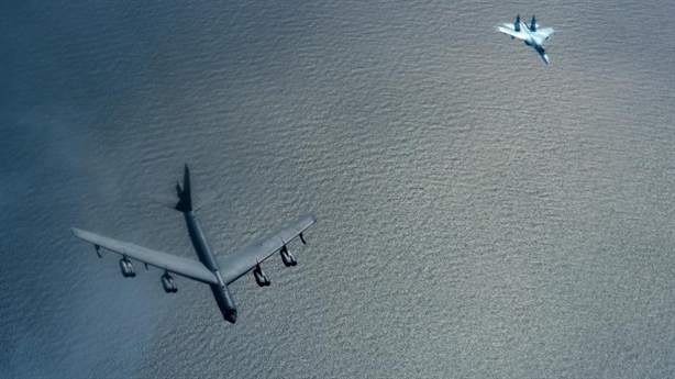 B-52H lộ mật khi diễn tập tấn công Nga tại Syria