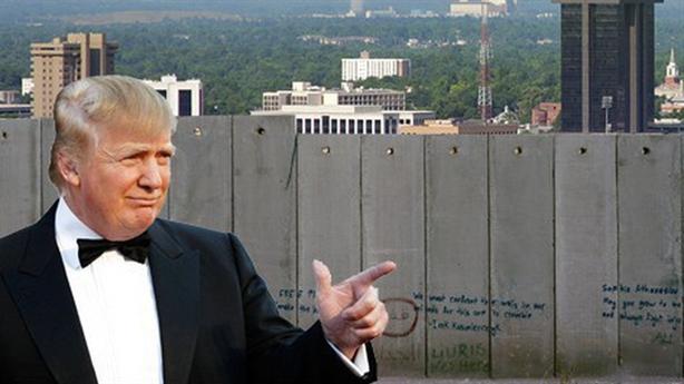 Mỹ kêu gọi châu Âu chia sẻ xây bức tường biên giới
