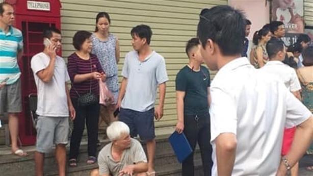 Điều tra vụ nổ lớn tại chung cư Linh Đàm
