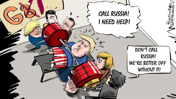 G7+Nga: Hồi kết cuộc hôn nhân chính trị gượng ép