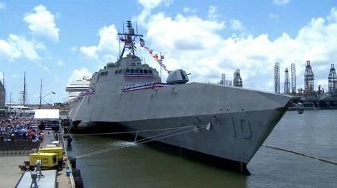 Mỹ trang bị tên lửa mới cho tàu chiến chống Trung Quốc