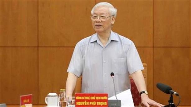 Hoạt động nóng của Tổng Bí thư Nguyễn Phú Trọng trong tuần