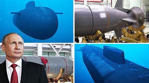 Đòn tấn công không ngờ của siêu ngư lôi Poseidon