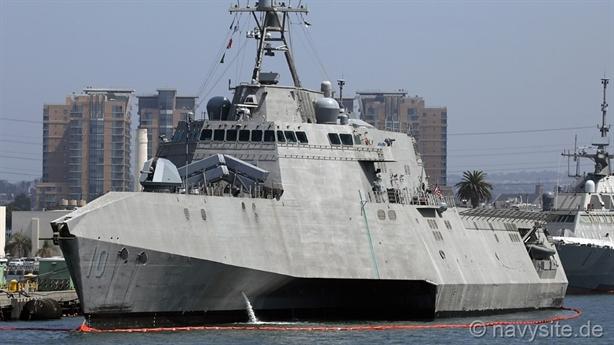 Mỹ thất bại khi tích hợp Harpoon lên tàu LCS