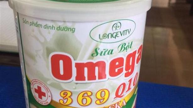 Hơn 5.000 hộp sữa nhãn Omega 369 Q10 Alaska không đạt chuẩn