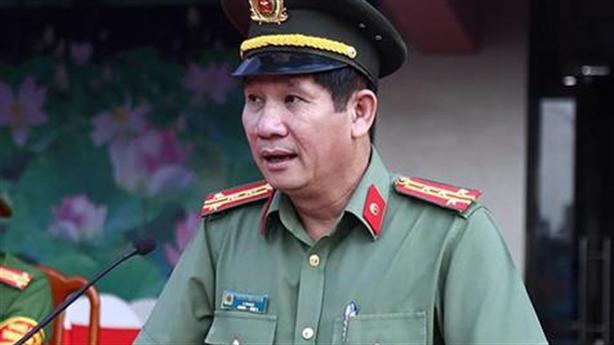 Ông Huỳnh Tiến Mạnh bị cách chức GĐ Công an Đồng Nai
