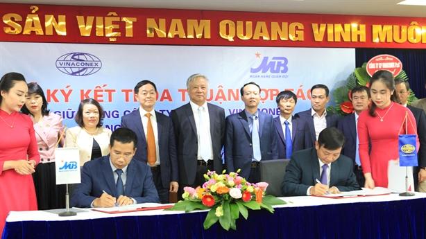 MB và VINACONEX ký thỏa thuận hợp tác