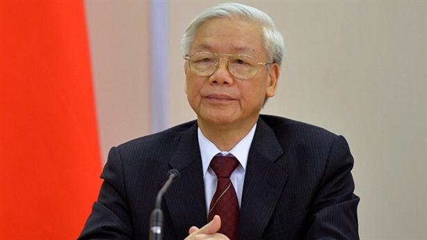 Tổng Bí thư Nguyễn Phú Trọng chia buồn với Tổng thống Indonesia