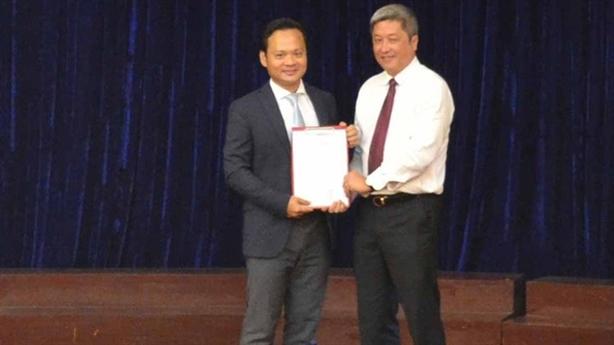 Ông Hoàng Quốc Cường làm Phó Viện trưởng Viện Pasteur TPHCM