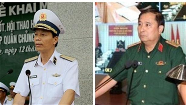 Bổ nhiệm 2 Phó Tổng Tham mưu trưởng Quân đội