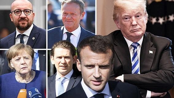 Thương chiến: Mỹ một tay 'đánh' Trung Quốc, một tay 'tẩn' EU
