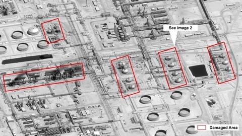 Mỹ trưng ảnh vệ tinh cáo buộc Iran 'tấn công phẫu thuật'