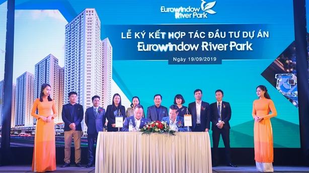 Eurowindow Holding và CenLand đầu tư chung cư Eurowindow River Park
