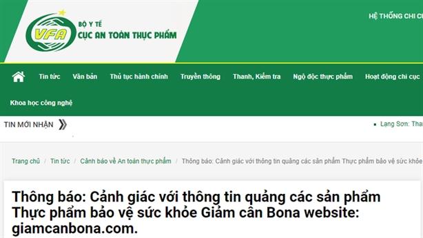 Đau đầu quảng cáo TPCN trên mạng xã hội