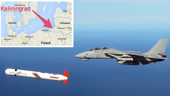 Mỹ triển khai Tomahawk, tính kế xuyên phá 'tường lửa Kaliningrad'