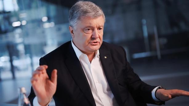 Cựu Tổng thống Poroshenko chữa ngượng khi nói về công thức Steinmeier