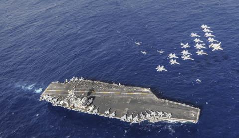 Mỹ liên tục đóng tàu sân bay, Nga nói mỉa