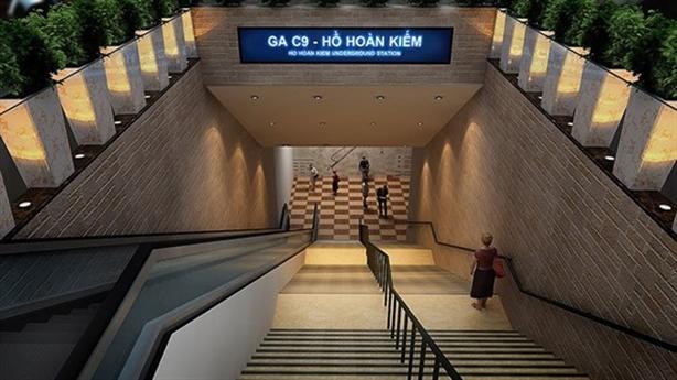 Hà Nội quyết giữ vị trí ga C9 ở Hồ Gươm