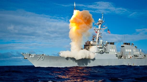 Hải quân Nga dùng ảnh chiến hạm Aegis khoe sức mạnh