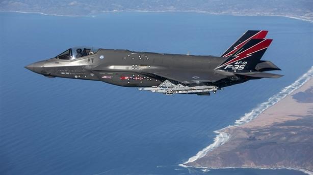 F-35 có thể đấu tay đôi với Su-35