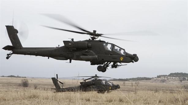 Mỹ bán thêm hàng sau khi Apache bị mù vật cản