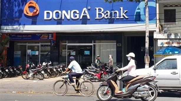 Bị âm vốn chủ sở hữu, DongA Bank phải bán cổ phần