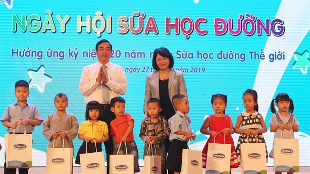Đà Nẵng tổ chức ngày hội sữa học đường