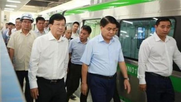 Phó Thủ tướng truy tiến độ Cát Linh-Hà Đông:Tổng thầu loanh quanh