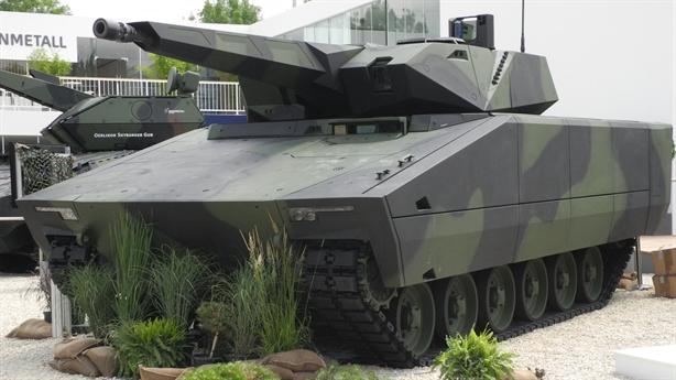 Mỹ mua xe chiến đấu tàng hình Đức