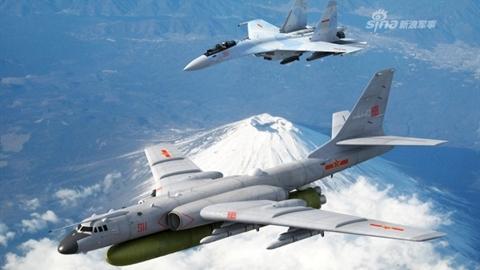 Lộ vũ khí thực sự được Trung Quốc tích hợp cho H-6N