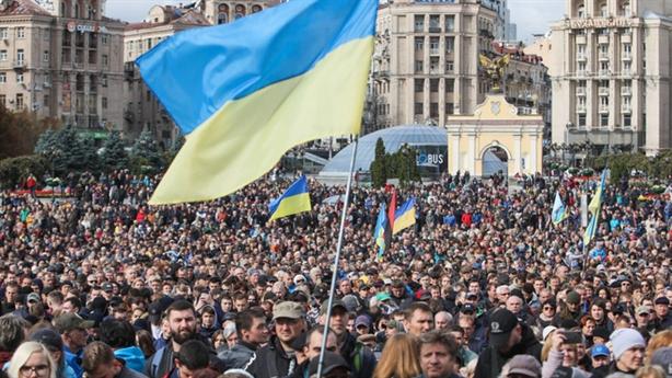 Ông Poroshenko kêu gọi biểu tình chống Tổng thống Zelensky