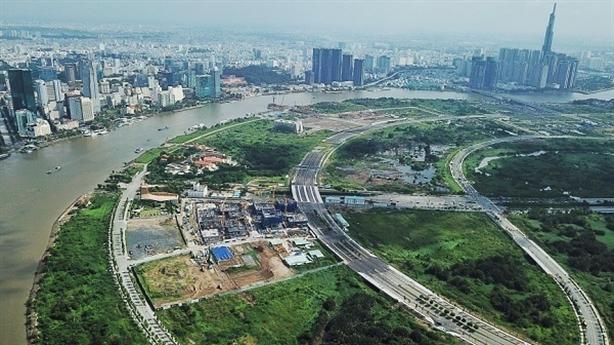 Thu hồi 1.800 tỷ từ dự án 4 tuyến đường Thủ Thiêm