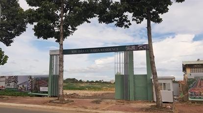 'Ma trận' thông tin về chủ đầu tư dự án Baria Residence
