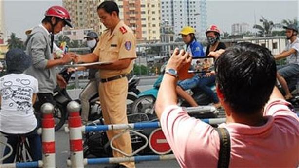 Người dân được ghi hình giám sát CSGT: Mức độ nào?