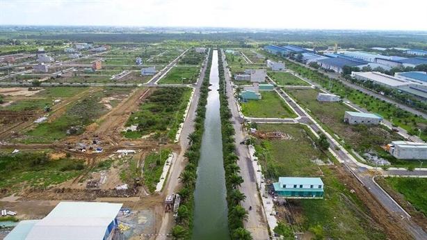 Hồng Đạt-Long An bán 2500 nền không phép mới bị phát hiện