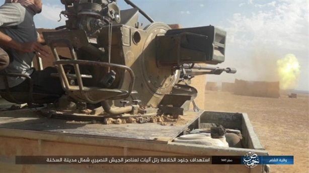 IS bất ngờ trỗi dậy, quân Assad dính đòn phục kích