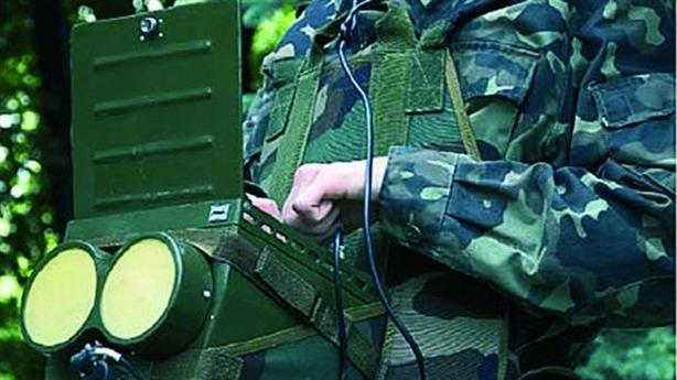Ukraine trình làng radar phát hiện được binh sĩ di chuyển