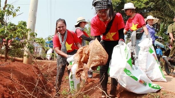 Sở GD-ĐT Đắk Lắk cùng chiến binh xanh bảo vệ môi trường