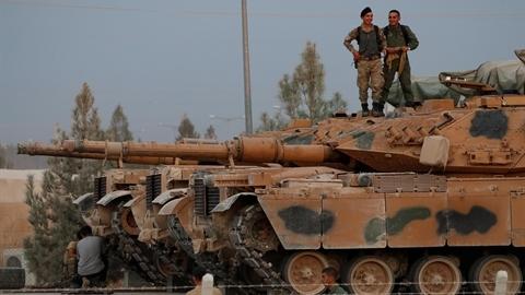 Thổ Nhĩ Kỳ tung chiến xa mạnh hơn T-90 vào Syria